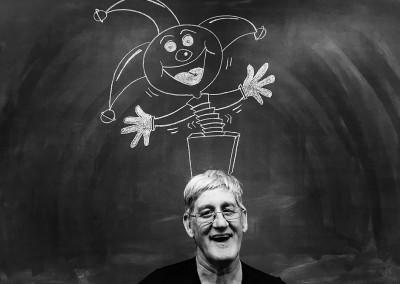Chalkboard Portrait